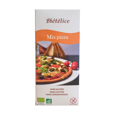 Mix pizza artisanal bio et naturellement sans Gluten  - 1