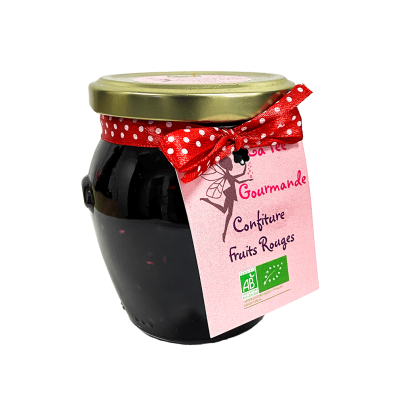 Confiture fruits rouges - BIO  - 1